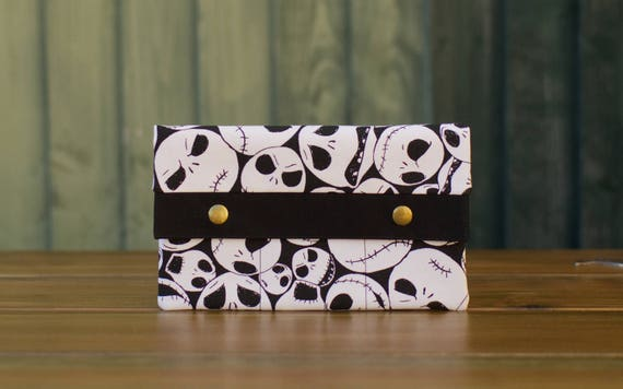 Nightmare Before Christmas Jack Face Wallet