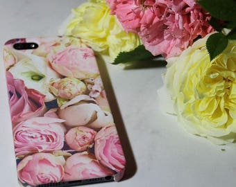 Peonies iPhone 7 Plus Case iPhone 5 Case Cool iPhone 6s Case iPhone SE Floral Case Blooming iPhone 7 Case iPhone 6 Plus Case iPhone 5S Case