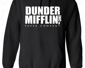 The Office Hoodie. Dunder Mifflin Hoodie. The office tv Show Hoodie. Dunder Mifflin Shirt. Dunder Mifflin Sweatshirt. More colors. S - 3XL.