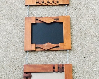 rustic picture frames and chalkboard hanging picture frames framed chalkboard 5x7 frames