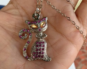 Kitty Necklace Fashion