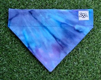 Tie Dye For   Reversible Dog Bandana