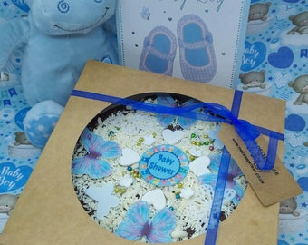 """7"""" Baby Shower / Happy Birthday / Congratulations / Thank You Chocolate Pizza, Dessert Pizza"""