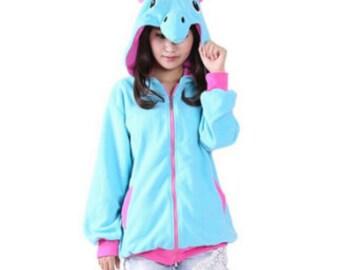 Women 3D Unicorn Hoodies Fashion Cartoon Stitch Sweatshirts Tracksuits Animal Pikachu hoodies Girls Winter Hooded Jacket