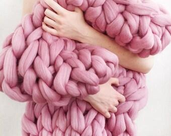 ValjanieUA.Plaid merino. 100% wool.Handmade. Home decor. gift for loved ones.