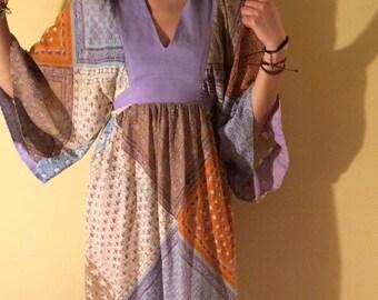 70s Gypsy Feels Dress