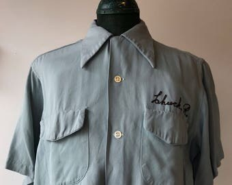 Vintage 1950s Bowling Shirt