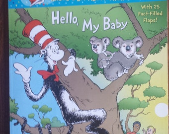 The Cat In The Hat - Hello, My Baby - Dr. Seuss - Flaps Books - Children's Books -