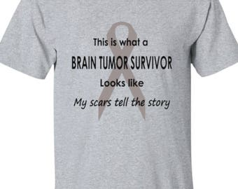 Unisex Brain Tumor Survivor Exclusive Design