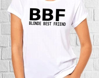 Birthday Shirts, Custom Bachelorette, Matching Shirts, Group Tank Tops, Brunette Best Friend, Funny Tank, Clothing, Best Friend Gift V 25