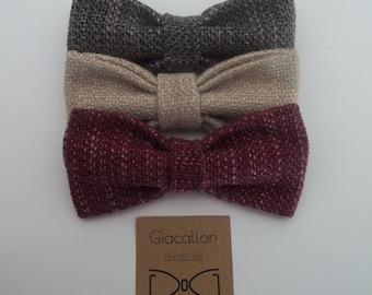 Bow tie men Bordeaux, tie man, vintage, elegant, ideal for special occasions, weddings, confirmations, communions, baptisms