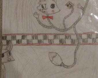 FNAF Mangle Drawing