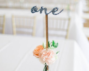 Table Number Sticks for Wedding Extra Tall for Table Number Wood or Custom Painted Wedding Decor Centerpiece (Item - LWS100)