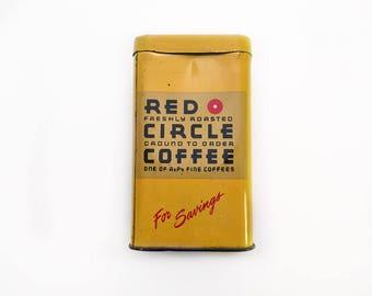 A & P Red Circle Coffee Savings Bank