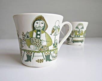 Figgjo Flint Mug Cup Market Turi Design - Made in Norway