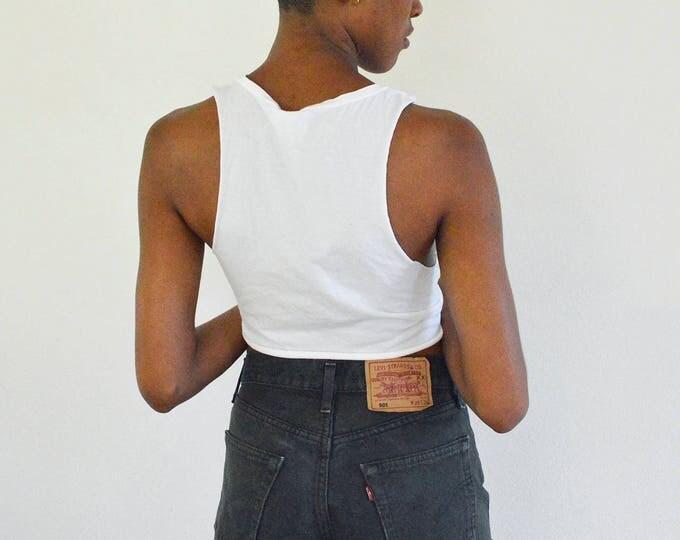 LEVI'S 501 Black Jean Shorts