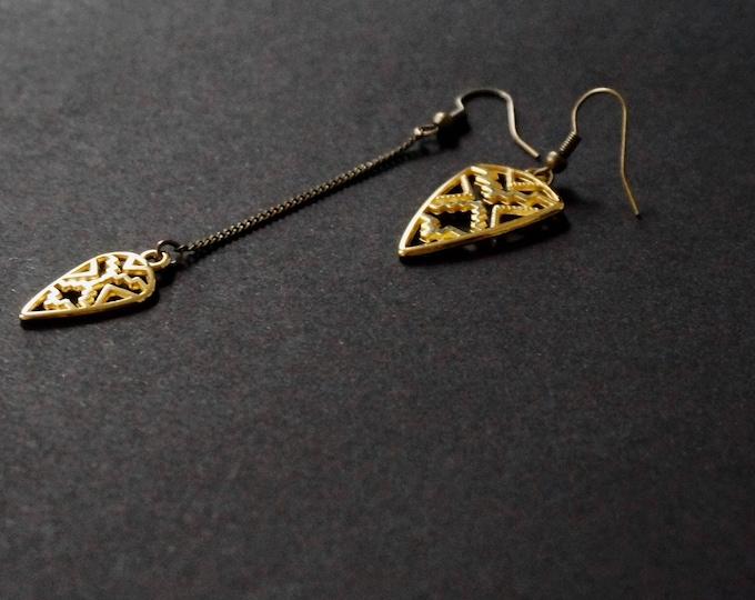 Tavoy Gold earrings