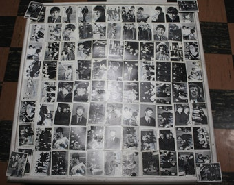 Vintage scarce Collection of Beatles trading Cards - Original, 2nd and 3rd series -#1 thru #165  (95) total cards Free Shipping Domestic USA