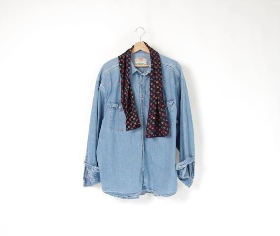90s Silk paisley printed men's shawl