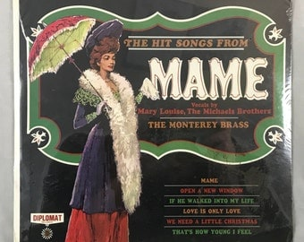 Sealed LP The Hit Song From MAME: Vocals by Mary Louise, The Micheals Brothers DS 2385
