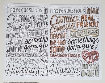Camila collage