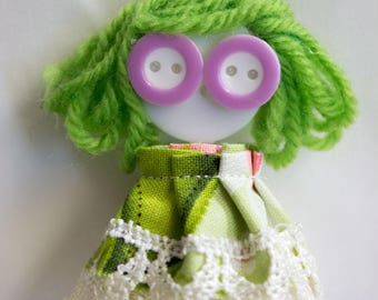 Button Doll