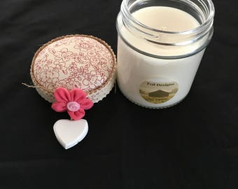 Soy Candle in Jar - Ripened Raspberry