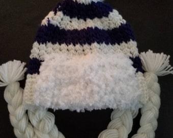 Overwatch Mei Cosplay Crocheted Beanie