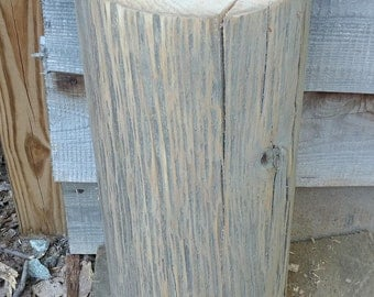 Beautiful poplar stump table stool plant stand- NEXT DAY SHIPPING!!!