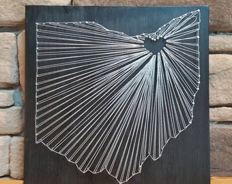 State String Art - You Choose the State