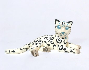World of Warcraft Chibi Figurine, Loque'nahak Leopard Cub, Resin Sculpture