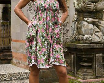 Edi Skirt-Dress, Skirt Dress Combo, Versatile Skirt, Boho Skirt, 104-139
