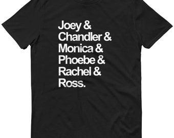 FRIENDS TV Show Squad Goals Sweatshirt / Shirt. Tshirt crew sweater fans gifts Rachel Green outfits fandom tops fangirl tee funny t-shirt