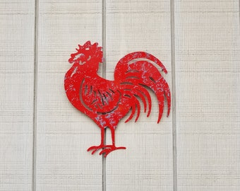 Charmant Rooster Wall Art / Rooster Decor / Kitchen Decor / Chicken Decor /  Farmhouse Kitchen Wall
