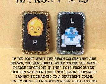 R2D2 and C3PO xray markers