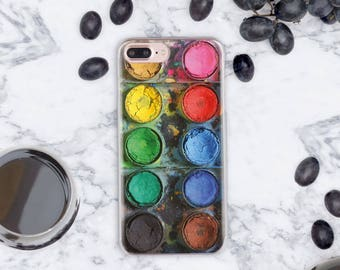 Watercolor iPhone 7 Case Paint 6s Plus iPhone Case iPhone 8 iPhone 7 Plus Case iPhone 6 Case iPhone SE Case Case iPhone 6s Case Clear cn1018