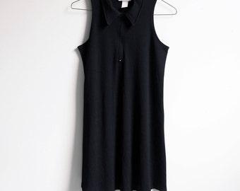 90's Grunge quilted BABYDOLL minimal tennis Dress Size M