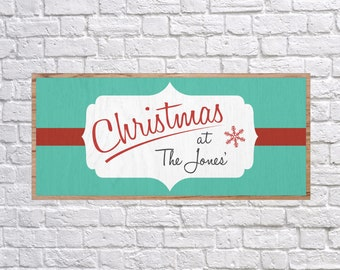 Customizable Christmas Sign, Vintage Christmas SVG, Print, Christmas Print, Vector, DXF, Fixer Upper, Magnolia Farms, Rustic, Joanna Gaines