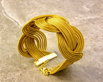 Leticia Golden Grass Bracelet