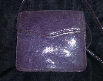 Beautiful purple ladies evening bag