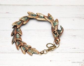 Fantasy Dragon Bracelet Dragons Jewelry Display Item Made To Order