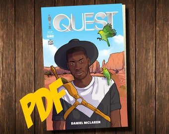 QUEST ISSUE 1 Digital Comicbook