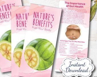 plexus product ingredient benefit brochure, plexus swag, plexus, Instant Download