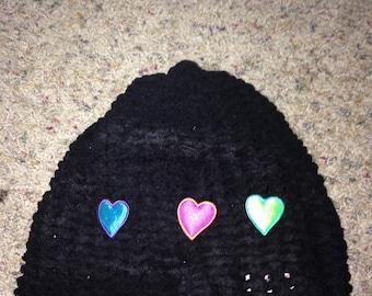 Soft Heart Hat