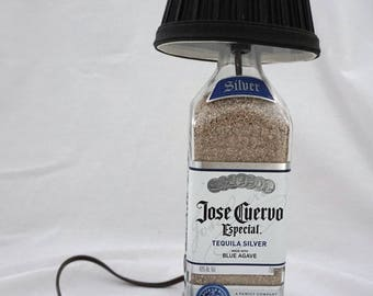 Table Lamp Jose Cuervo Especial Tequila Bottle