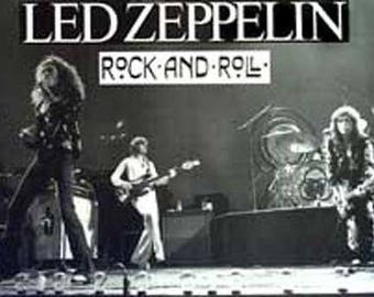 Led Zeppelin Rock And Roll Giant 38x53 Rare Poster
