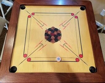 Classic Carrom Board made in America