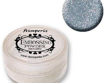 Silver Stamperia embossing powder