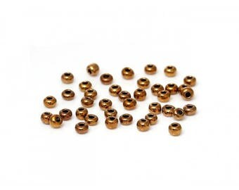 bronze colored seed beads 2mm 20g