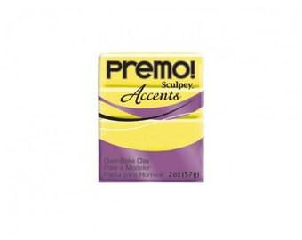 Clay Sculpey PREMO Accents 57 g neon yellow